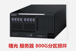 安徽省信用担保集团 曙光服务器数据恢复成功