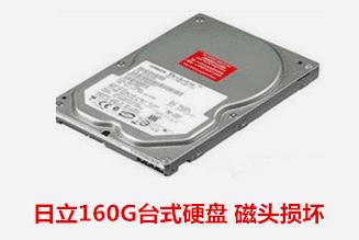 六安市财政局   日立硬盘开盘数据恢复成功。