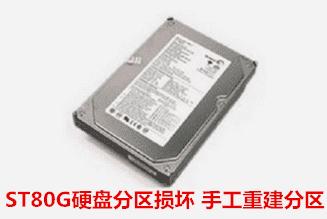 安徽省质检局   ST硬盘分区损坏数据恢复成功