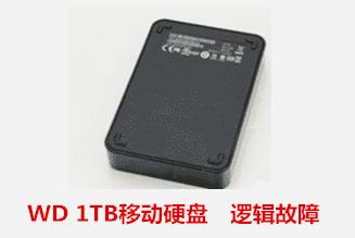 蚌埠94580部队  WD移动硬盘逻辑故障数据恢复成功