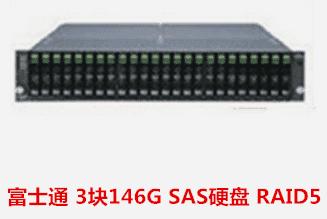 霍邱县卫生局   富士通存储RAID5 数据恢复成功