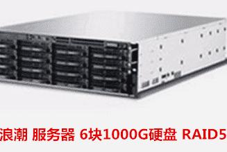 临泉县新农合管理中心    浪潮服务器数据恢复成功