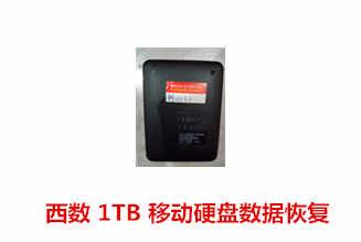 河南未先生西数1T移动硬盘数据恢复成功案例展示